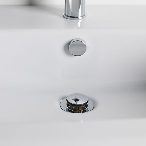 HOTELS UN-SLOTTED CLICKER BASIN WASTE