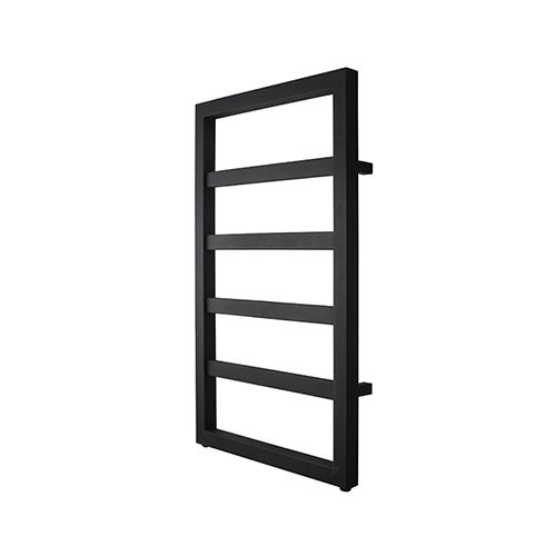 Square Black Radiator 530X900 mm