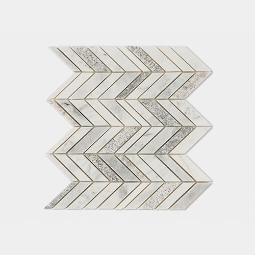 CONSTELLATION CHEVRON WHITE 25,2X30,4